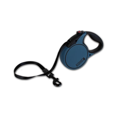 Kong Terrain Retractable Dog Lead Blue | Barks & Bunnies
