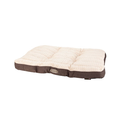 Scruffs Ellen Mattress Pet Bed Grey, Warm Tweed Dog Bed | Barks & Bunnies
