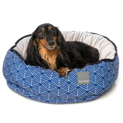 FuzzYard Hampton Reversible Dog Bed | Luxury dog Bed | Barks & Bunnies