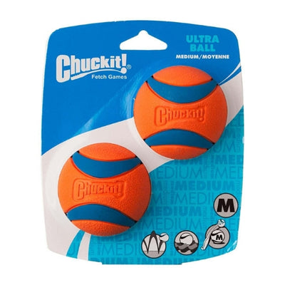 Chuckit Ultra Ball Medium, Durable Dog Ball Toy | Barks & Bunnies