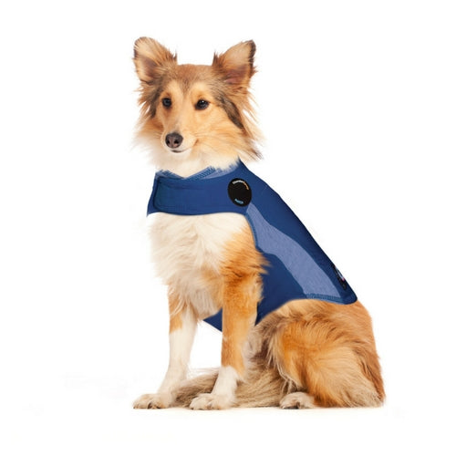 Thundershirt Polo Blue Dog Anxiety Coat, Money Back Guarantee | Barks & Bunnies