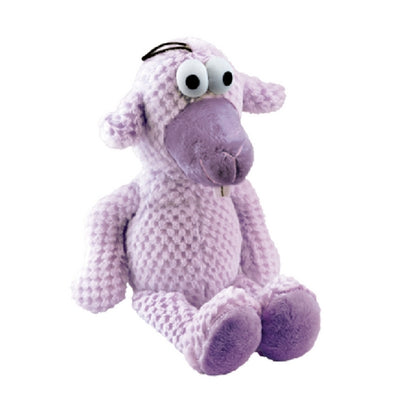Gor Pets Goofy Dog Toy Purple Sheep, Super Soft, Plush Dog Toy | Barks & Bunnies