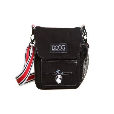 DOOG Walkie Bag Black, Cross Body Dog Walking Bag | Barks & Bunnies