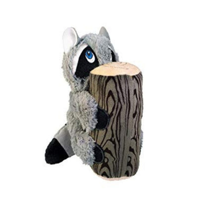 Kong Huggz Hiders Racoon, Plush Dog Toy | Barks & Bunnies