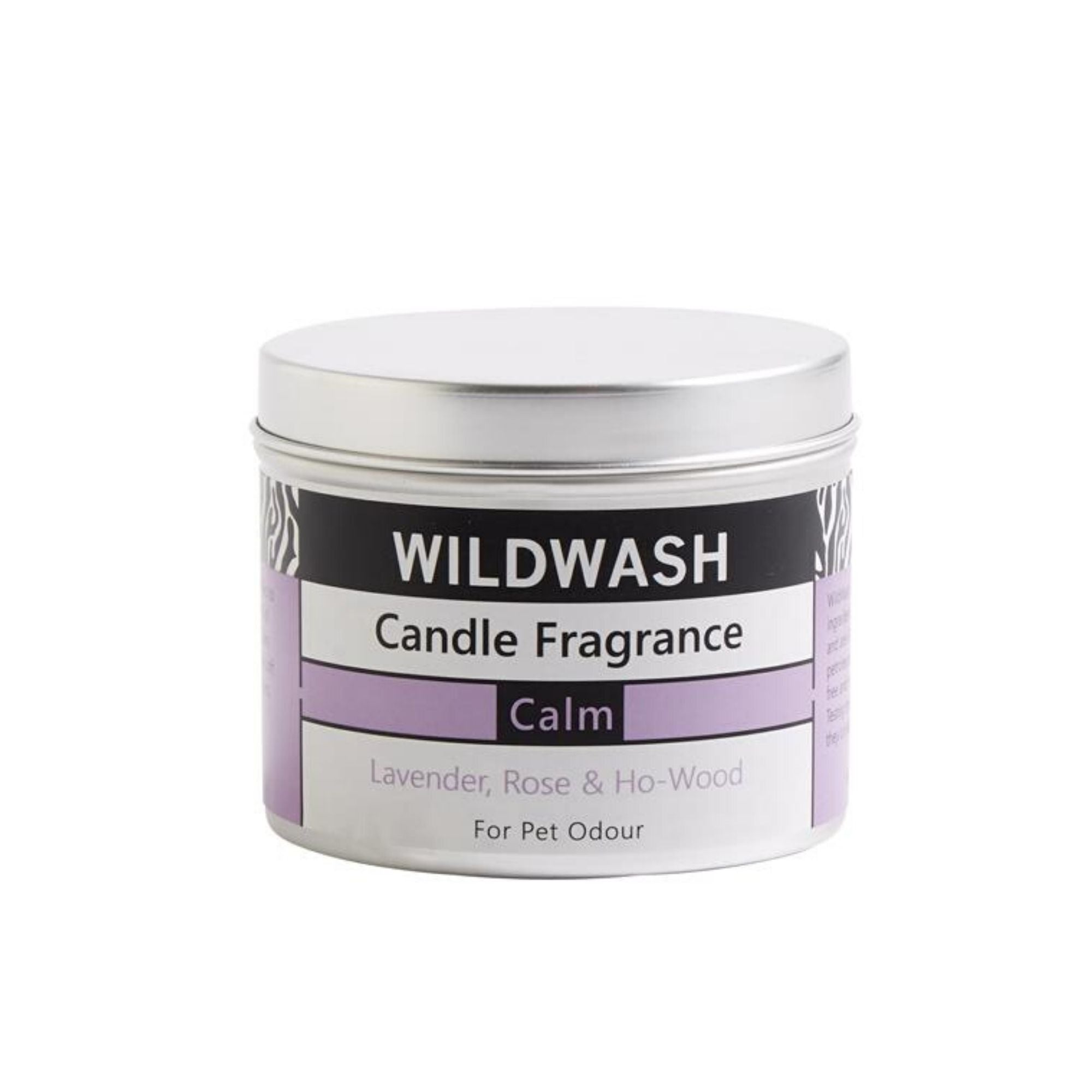 Wildwash Tinned Candle Calm, Vegan, Pet Friendly | Barks & Bunnies