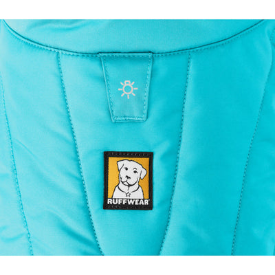 Ruffwear Powder Hound 2018 Blue Atoll Insulated Winter Dog Coat | Barks & Bunnies