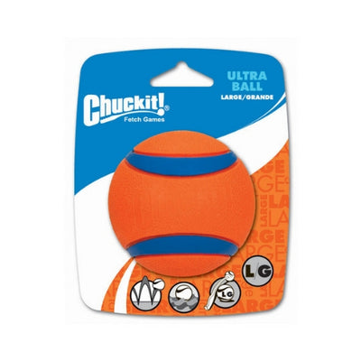 Chuckit Ultra Ball Large, Durable Dog Ball Toy | Barks & Bunnies