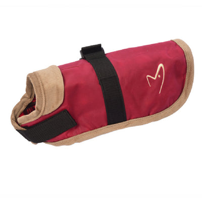 Gor Pets Edinburgh Dog Coat Red, Wax Winter Dog Coat | Barks & Bunnies