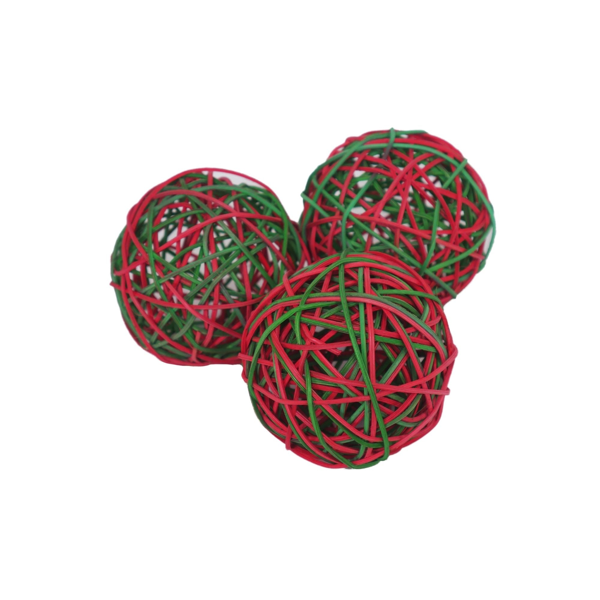 Rosewood Festive Weave-A-Ball Christmas Toy for Rabbits | Barks & Bunnies