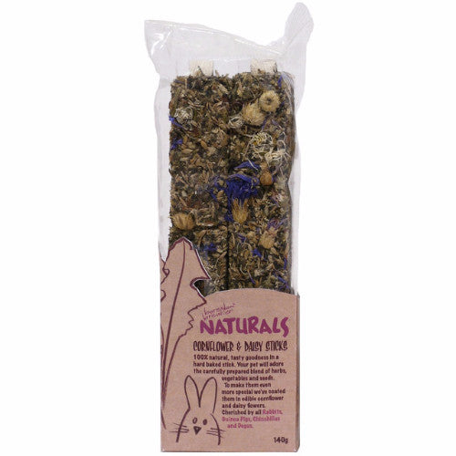 Rosewood Naturals Cornflower & Daisy Sticks | Barks & Bunnies