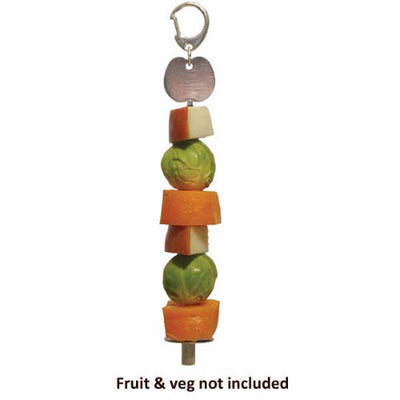 Rosewood Fruit & Veg Skewer for Small Animals | Barks & Bunnies