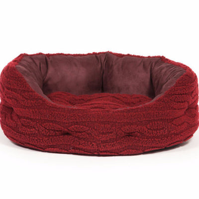 Danish Design Bobble Deluxe slumber Bed Damson | Barks & Bunnies