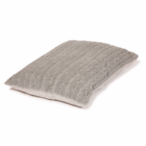 Danish Design Bobble Duvet Soft Pewter Dog & Puppy Bed | Barks & Bunnies