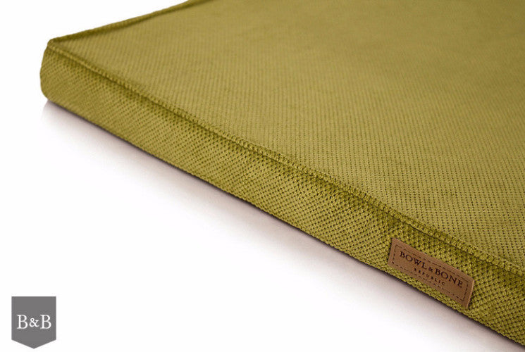 Bowl & Bone Republic Chill Mat Olive, Dog Bed | Barks & Bunnies
