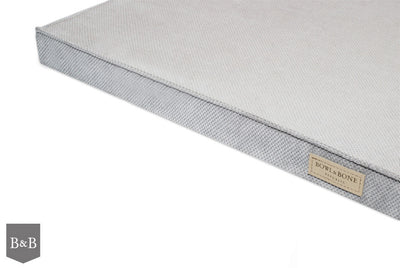 Bowl & Bone Republic Chill Mat Silver, Dog Bed | Barks & Bunnies