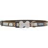 Red Dingo Circadelic Brown Dog & Puppy Collar | Barks & Bunnies
