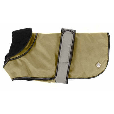Danish Design The Ultimate 2-in-1 Dog Coat Khaki | Barks & Bunnies