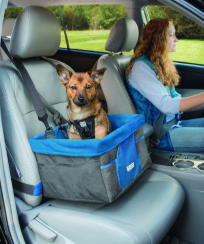 Kurgo Heather Car Booster Seat for Dogs | Barks & Bunnies