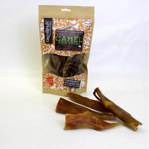 Green & Wilds Camel Hide Chews for Dogs | Barks & Bunnies