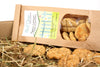 Handmade Dog Treats, 100% Natural with Peanut Butter & Apple | Barks & Bunnies