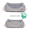 Blue Maritime Snuggle Dog Bed by Danish Design | Barks & Bunnies