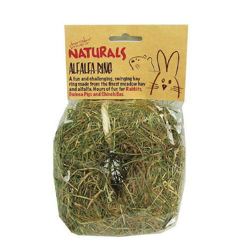 Rosewood Naturals Alfalfa Ring for Rabbits | Barks & Bunnies
