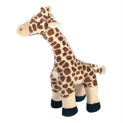 Fluff & Tuff Nelly Giraffe, Durable Plush Dog Toys | Barks & Bunnies