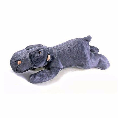 Fluff & Tuff Helga Hippo, Durable Plush Dog Toys | Barks & Bunnies