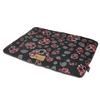 PLAY Chill Pad Skulls & Roses, Designer Dog Crate Mat | Barks & Bunnies