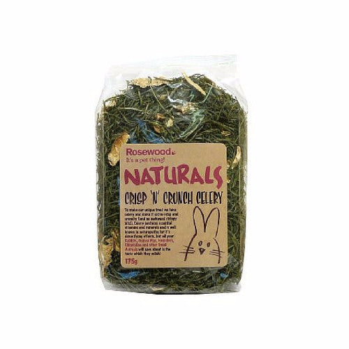 Rosewood Naturals Crisp & Crunch Celery for Rabbits & Small Animals | Barks & Bunnies