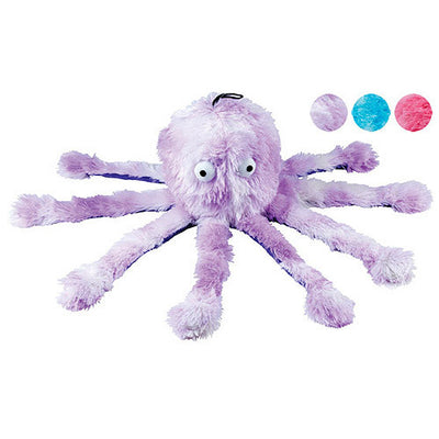 Gor Pets Octopus Dog & Puppy Toy, Super Soft, Plush | Barks & Bunnies