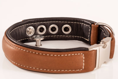 Maelson Soft Coll'R Luxury Leather Dog Collars | Barks & Bunnies