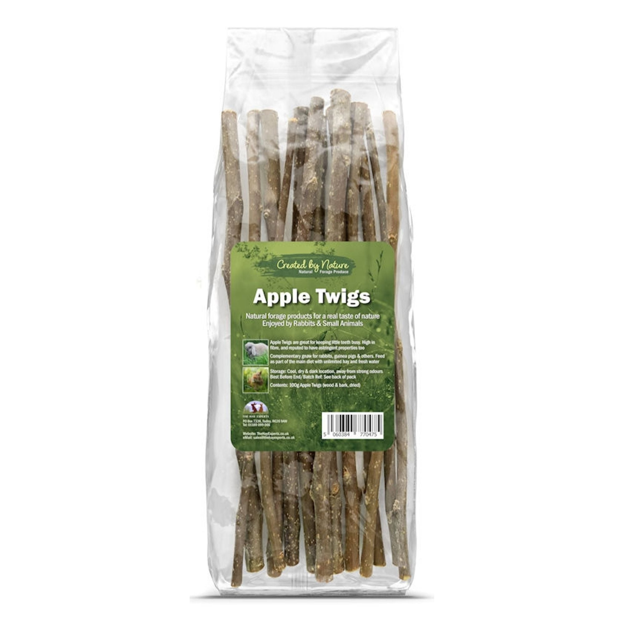 The Hay Experts Apple Twigs, Toys for Rabbits | Barks & Bunnies