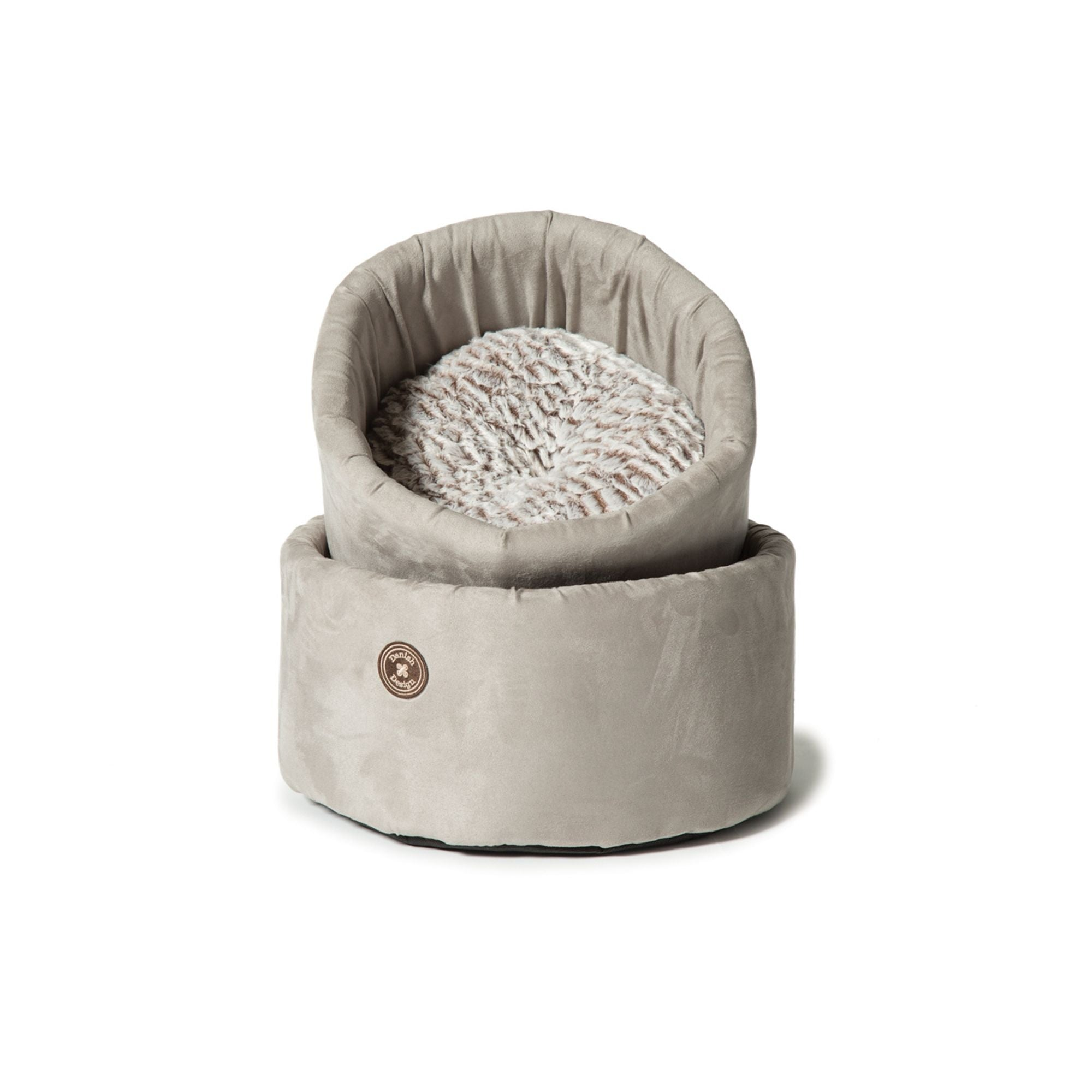 Danish Design Arctic Grey Cat Bed Cosy | Barks & Bunnies