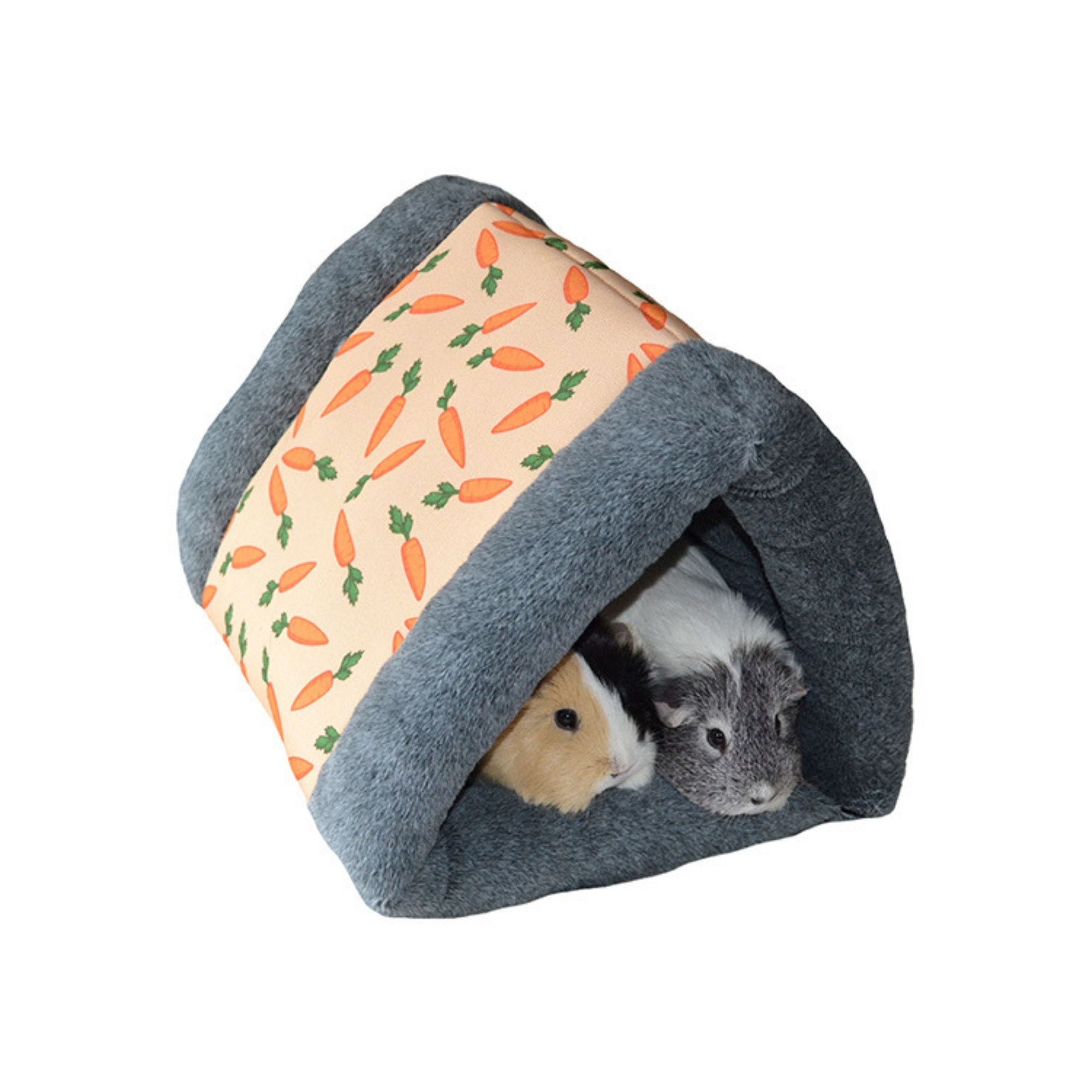 Rosewood Carrot Snuggle n' Sleep for Guinea Pigs | Barks & Bunnies