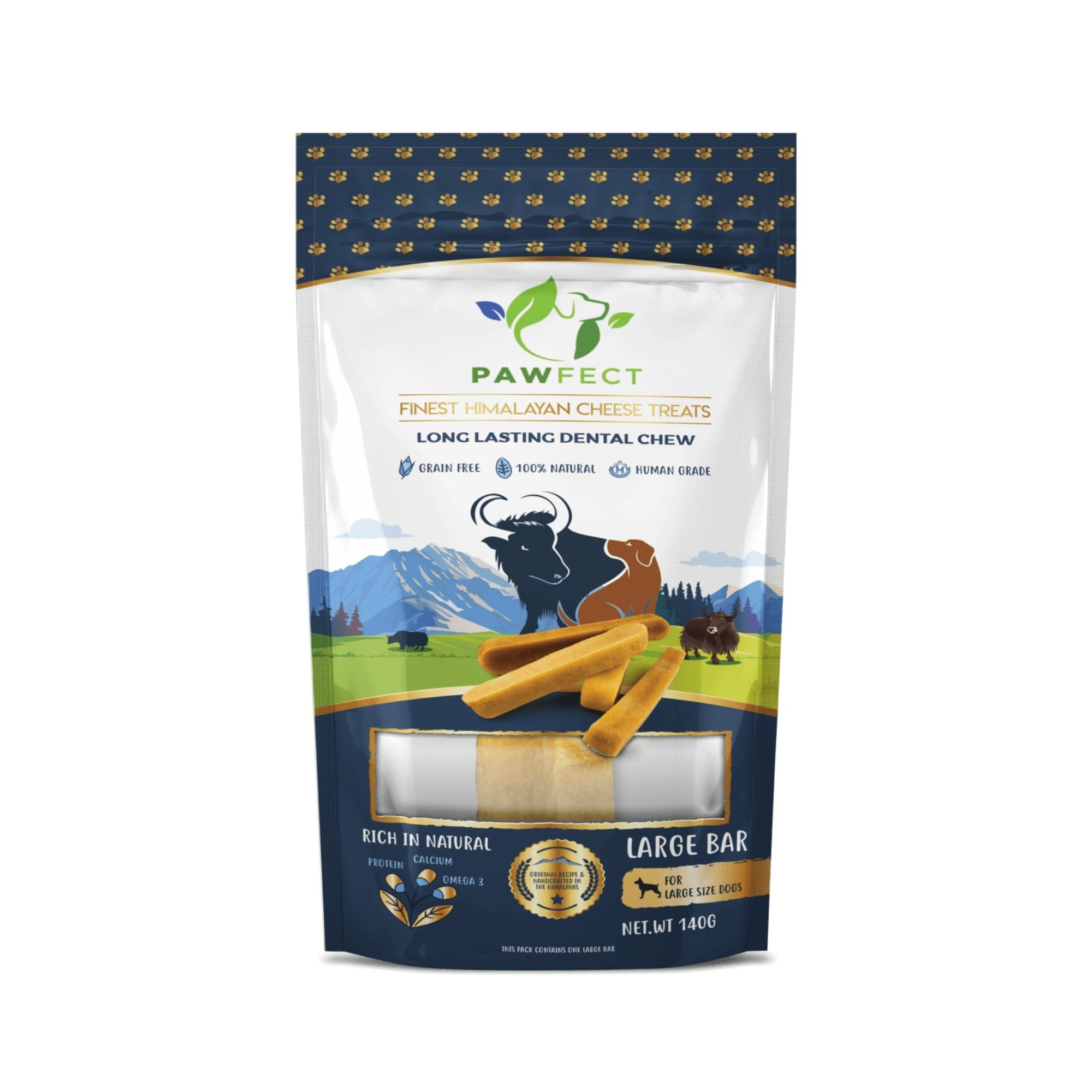 Pawfect HImalayan Cheese Chew for Dogs | Yakers | Barks & Bunnies