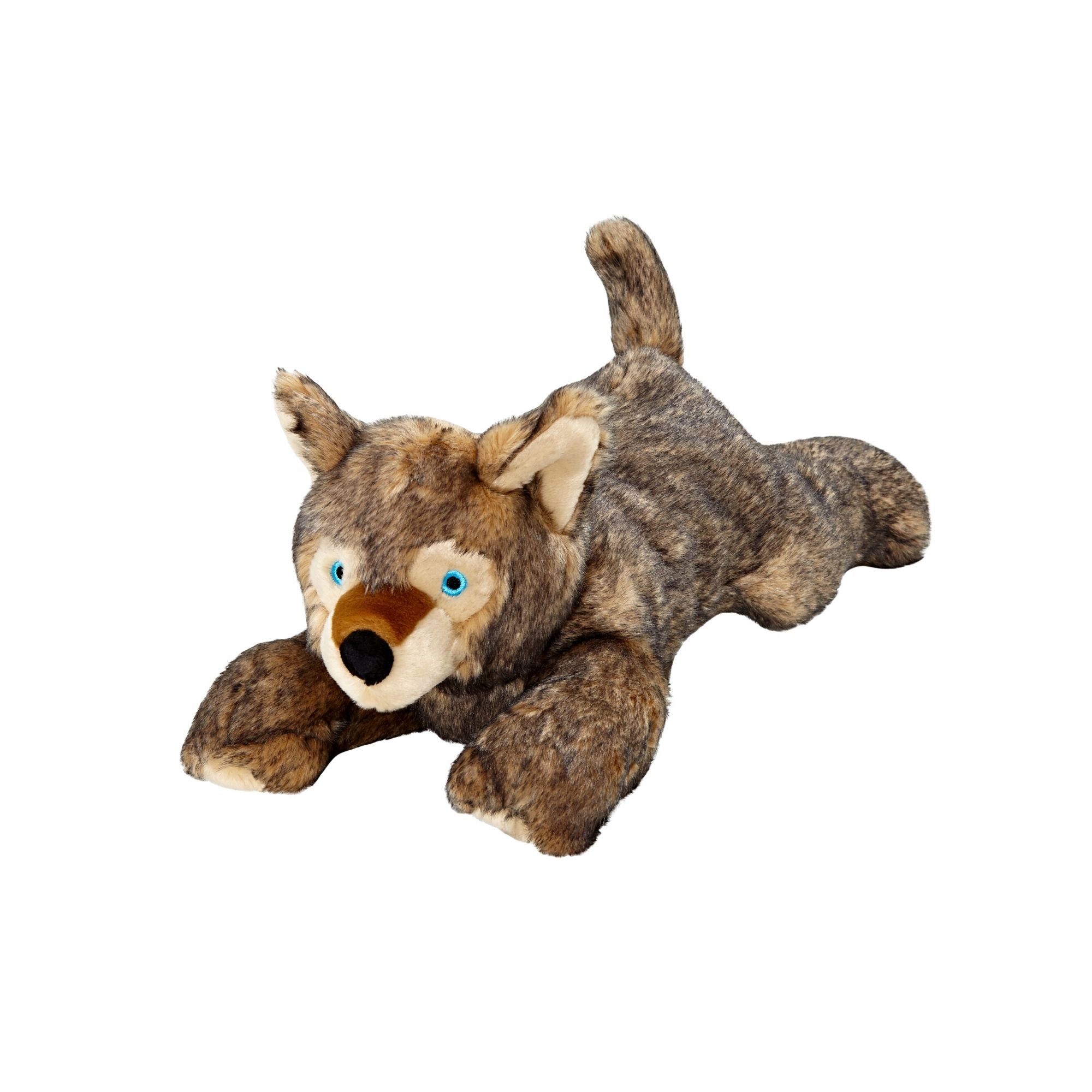 Fluff & Tuff Lobo Wolf Pup, Durable Plush Dog Toys | Barks & Bunnies