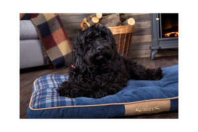 Scruffs Highland Mattress, Tartan Pet Dog Bed | Barks & Bunnies
