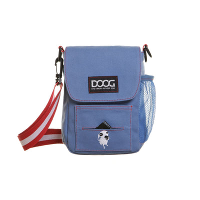 DOOG Walkie Bag Blue, Cross Body Dog Walking Bag | Barks & Bunnies