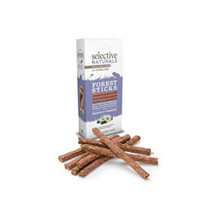 Supreme Selective Naturals Forest Sticks for Rabbits | Barks & Bunnies