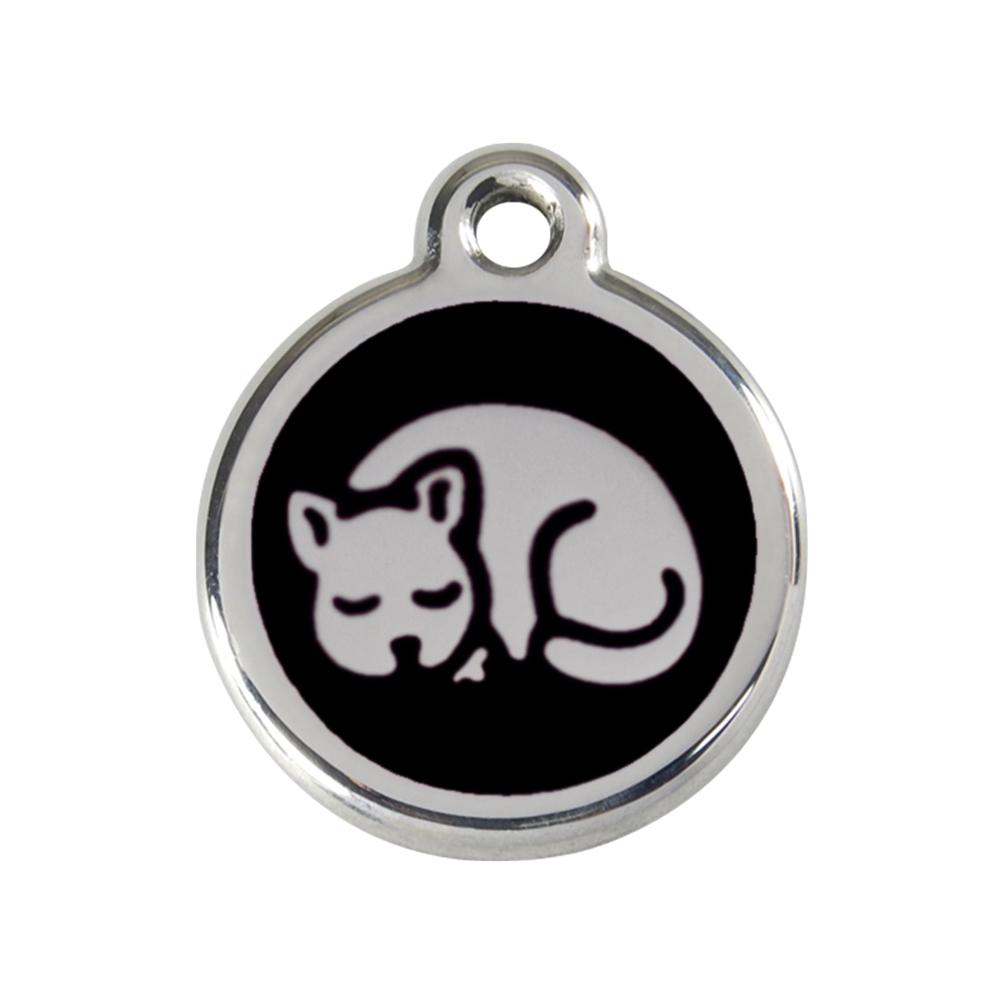 Red Dingo Kitten Cat Tag, Enamel Pet Tag UK | Barks & Bunnies