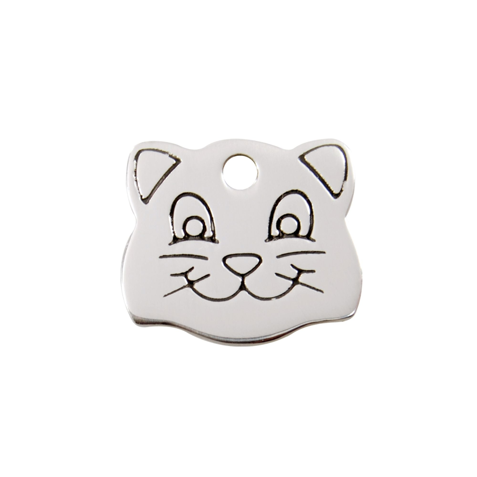 Cat Face Tag
