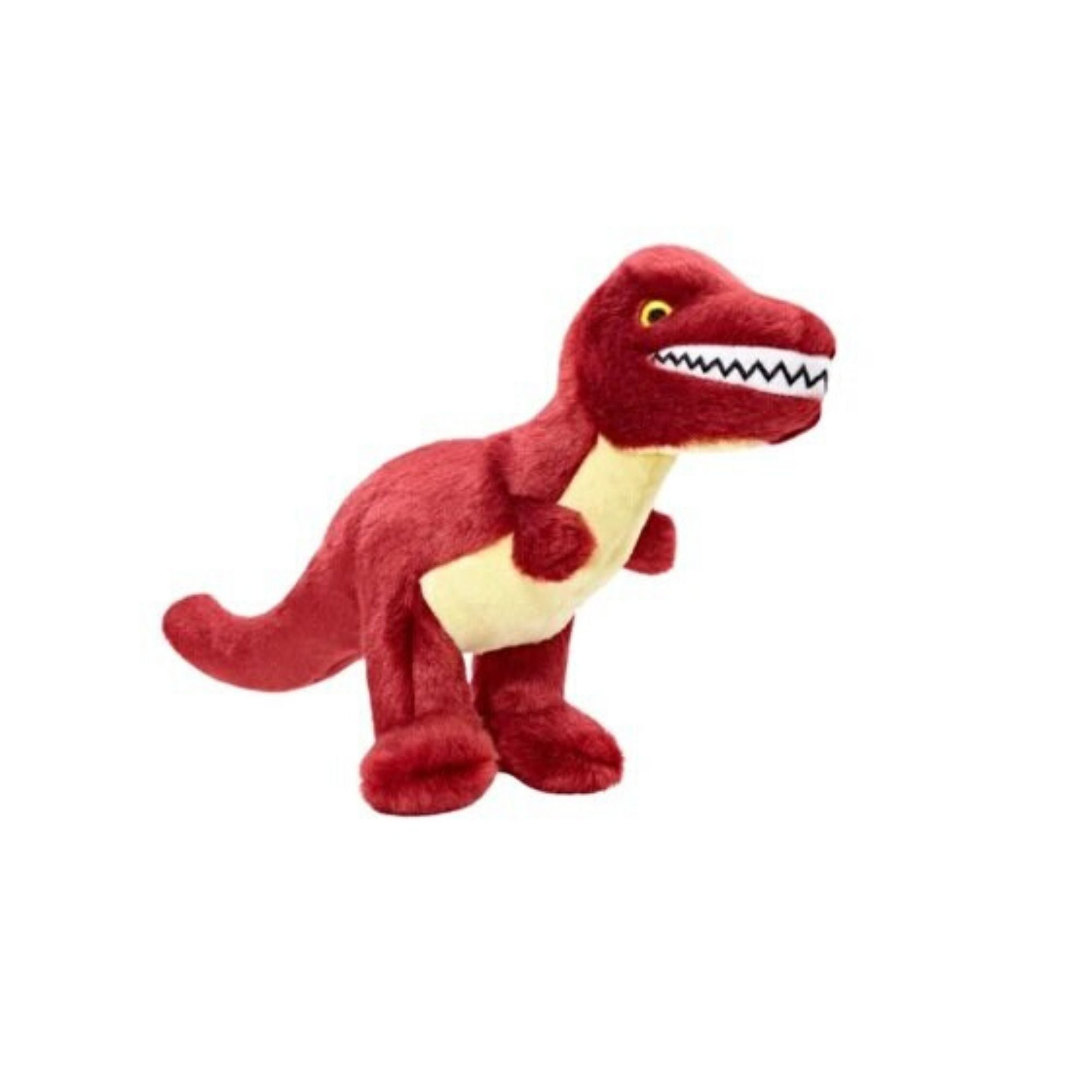 Fluff & Tuff Tiny T-Rex, Durable Plush Dog Toys | Barks & Bunnies