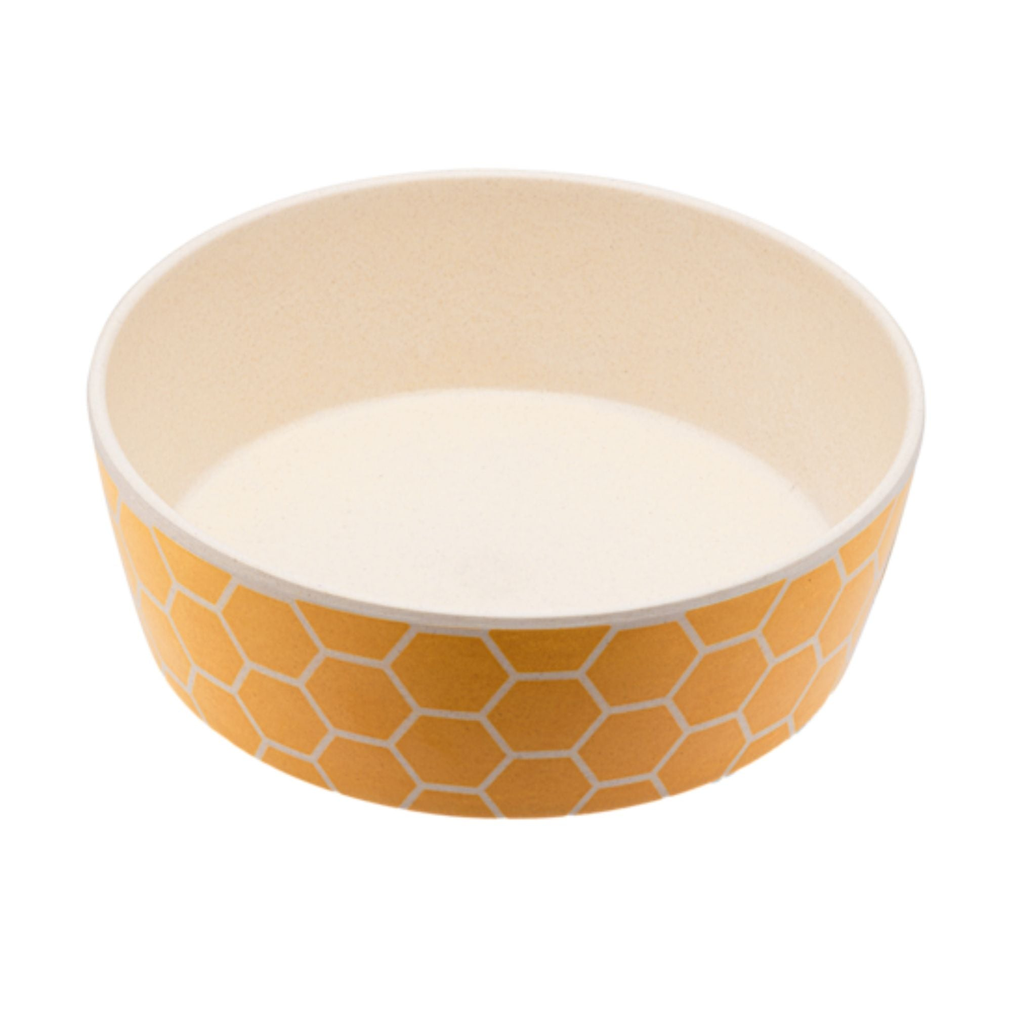 Beco Pets Eco-Friendly Bamboo Dog Pet Bowl Honeycomb | Barks & Bunnies