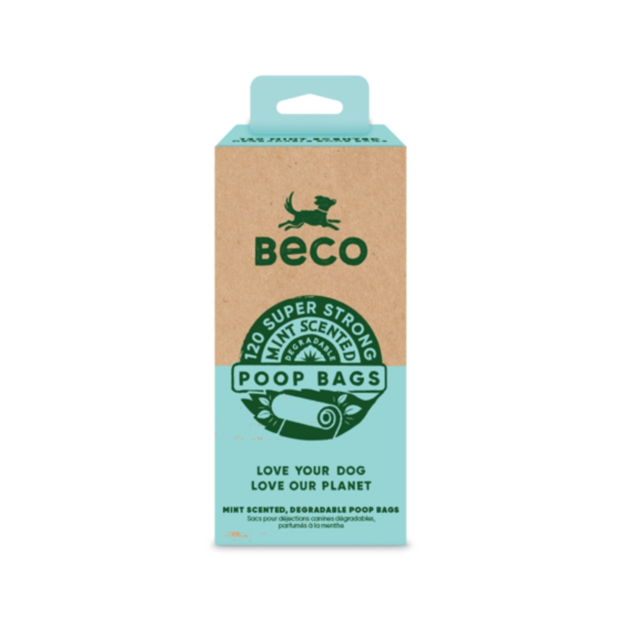 Beco Bags Mint 120 Eco-Friendly Dog Poop Bags | Barks & Bunnies