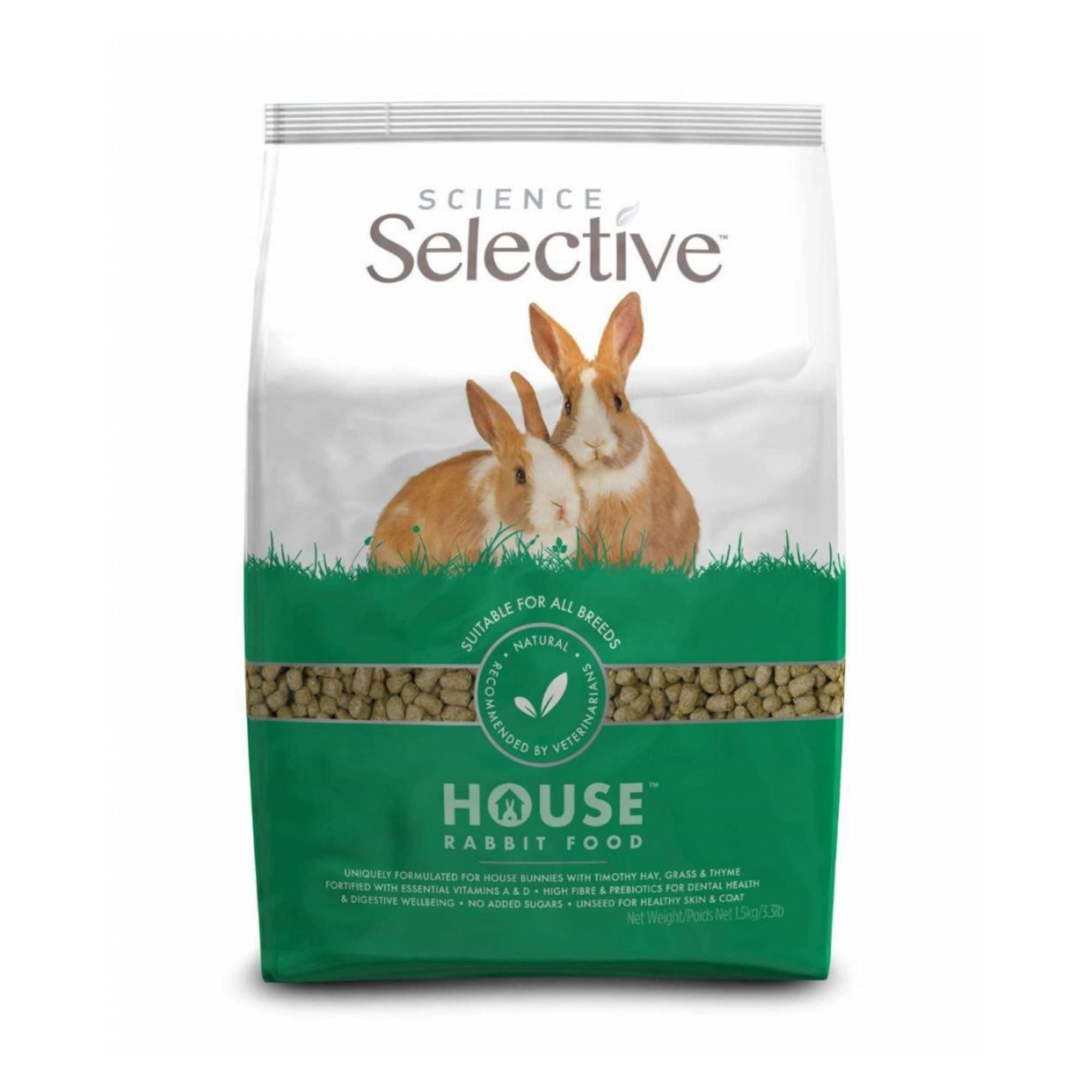 Supreme Science Selective Adult House Rabbit Food | Barks & Bunnies