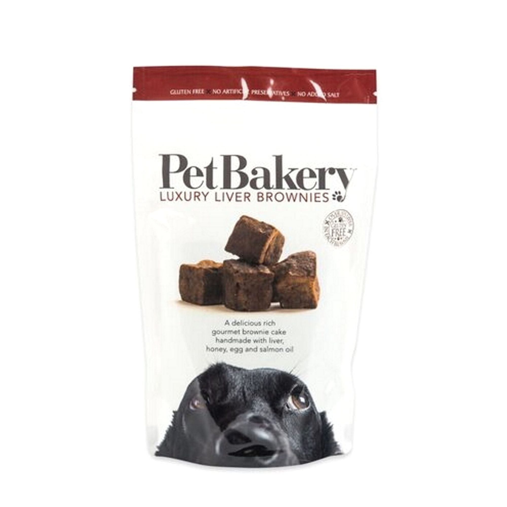 Pet Bakery Luxury Liver Brownies Dog Treats | Barks & Bunnies