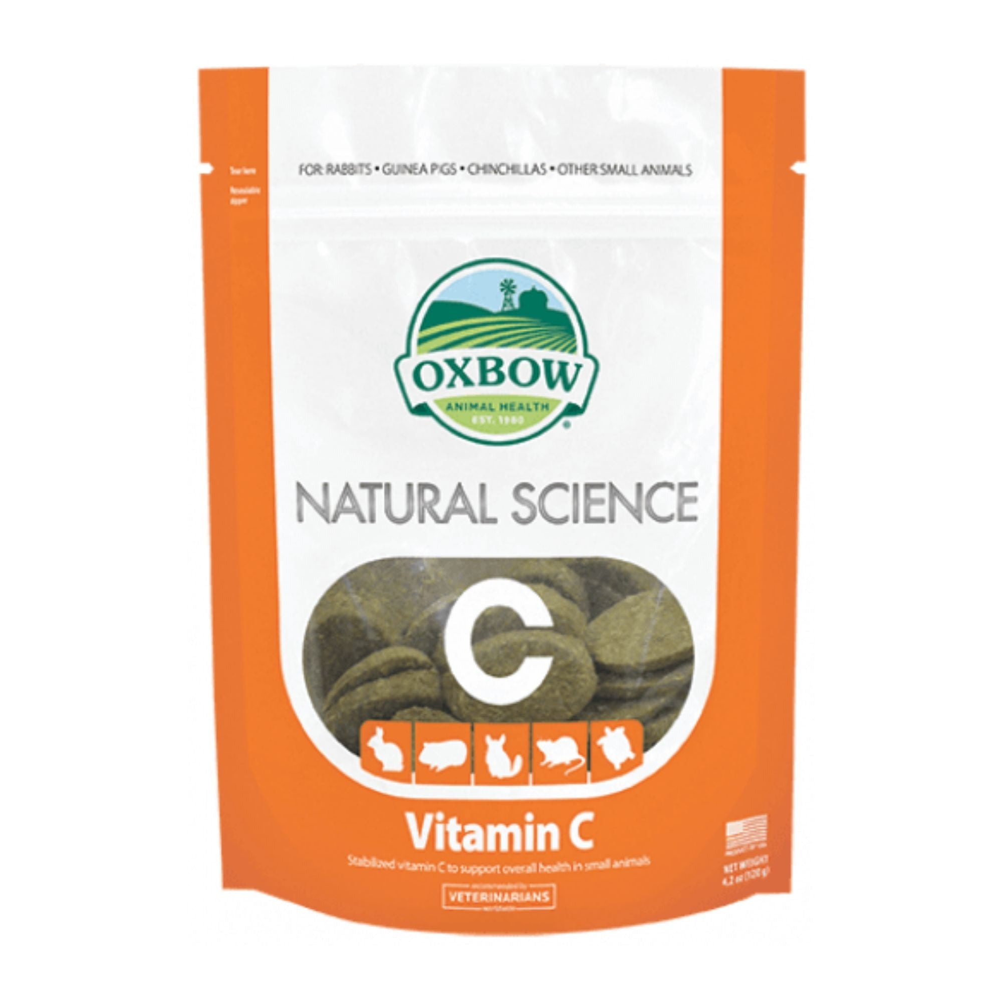 Oxbow Natural Science Vitamin C for Small Animals | Barks & Bunnies