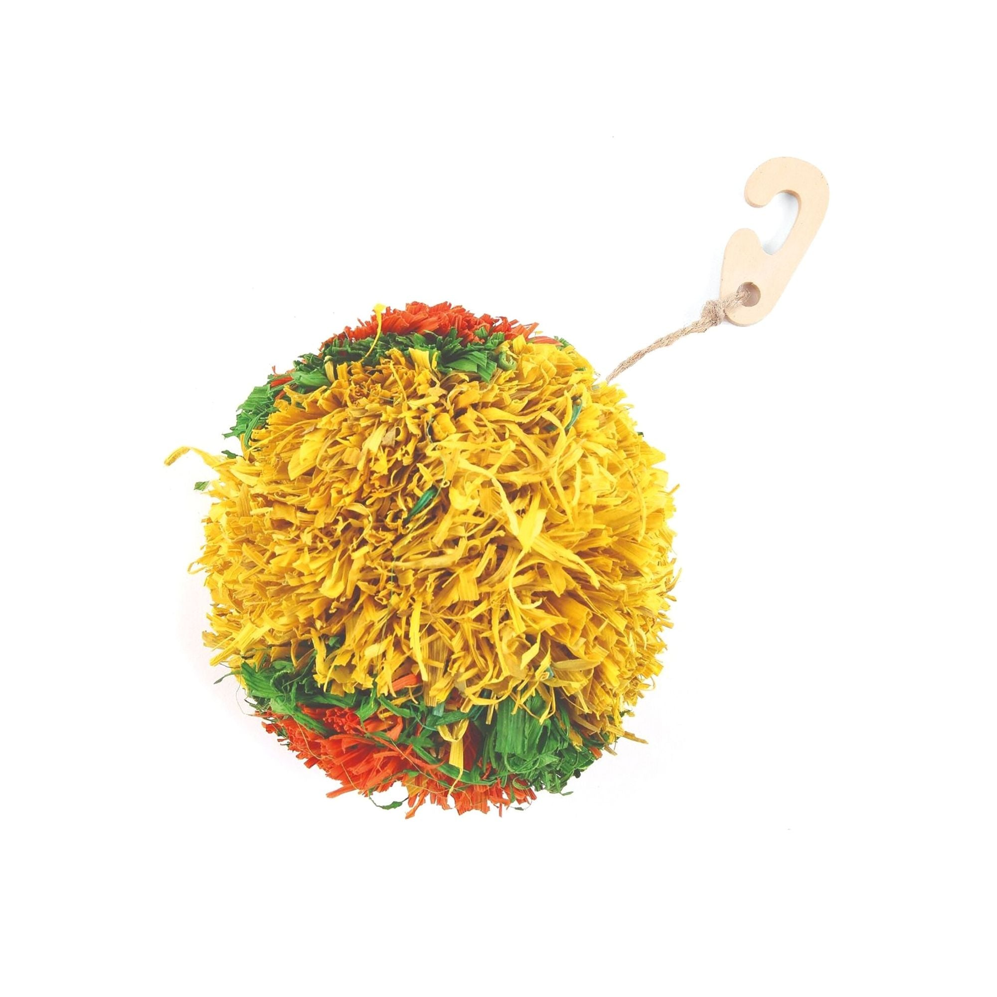 Critters Choice Corny Pom Pom Rabbit & Small Animal Toy | Barks & Bunnies