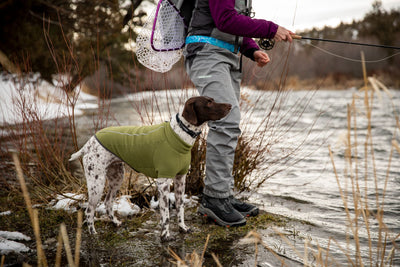 Ruffwear Climate Changer, Winter Fleece Dog Coat | Barks & Bunnies